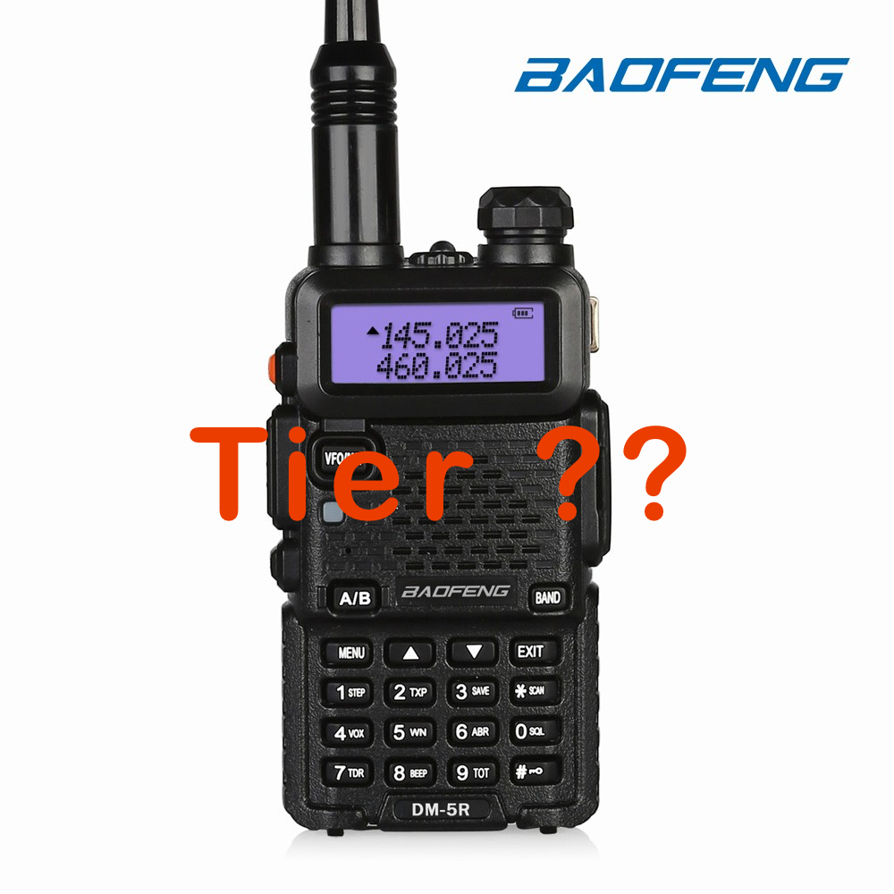 Baofeng DM-5R Tier?