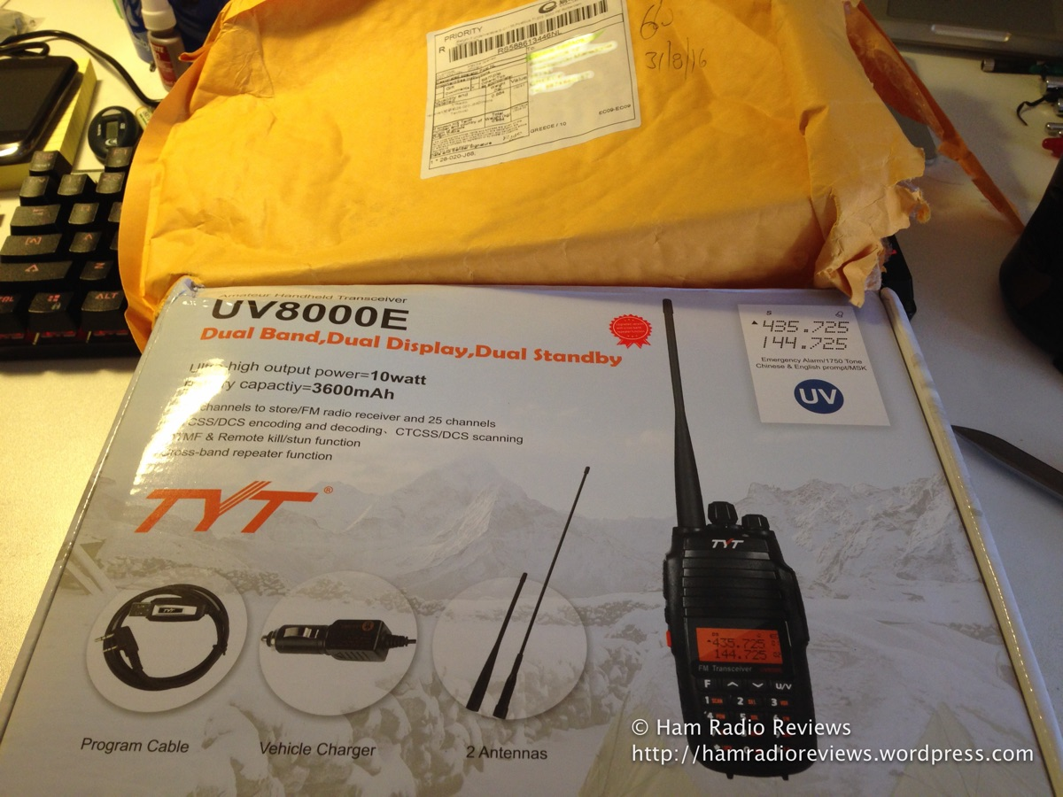 tyt uv8000e review