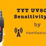 TYT UV8000E Sensitivity Test [Video]