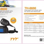 TYT TH-8600 25W Mini Mobile Radio