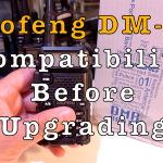 Baofeng DM-5R Compatibility Before Upgrading [Video]