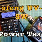 Baofeng UV-82 8W Power Test [Video]