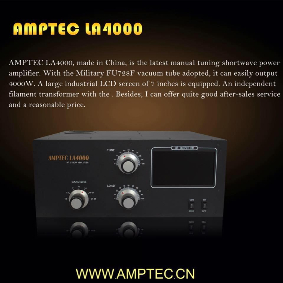 Amptec LA4000 4kW Amplifier