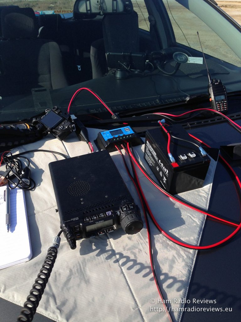 Solar Powered Ham Radio