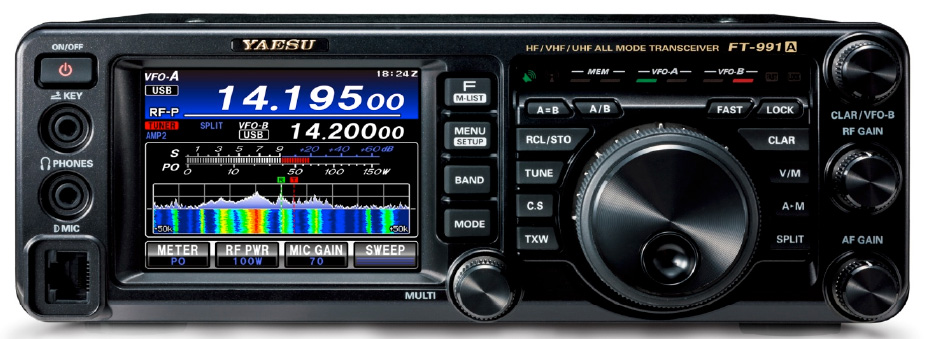 Yaesu FT-991/A Firmware Upgrades Released