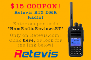 Retevis RT3 Coupon