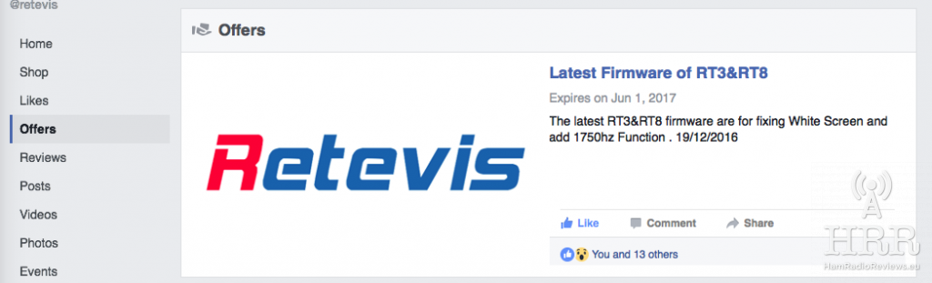 Retevis RT3 Firmware Upgrade How-To