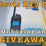 Retevis RT3 Unboxing and Giveaway [Video]