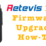 Retevis RT3 Firmware Upgrade How-To [Article+Video]