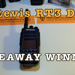 Retevis RT3 DMR Christmas 2016 Giveaway Winner [Video]