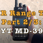 DMR Range Test – TYT MD-398 [Video]