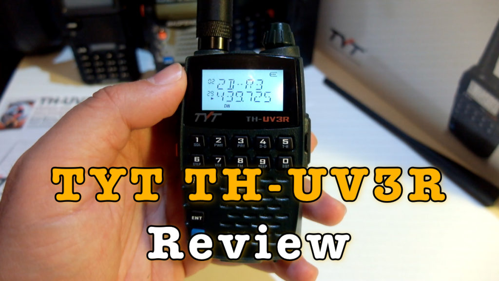 TYT TH-UV3R 2W Pocket Radio Review