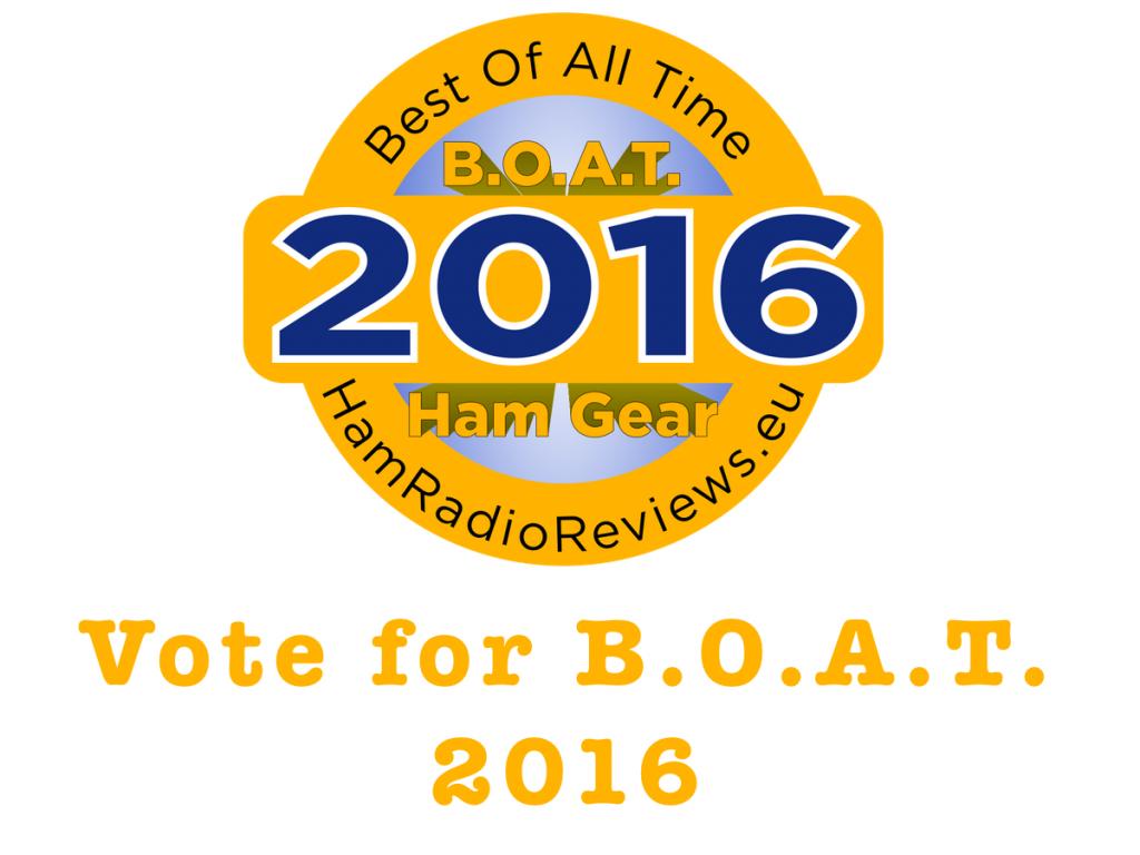 Vote for BOAT 2016