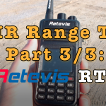 DMR Range Test – Retevis RT3 [Video]
