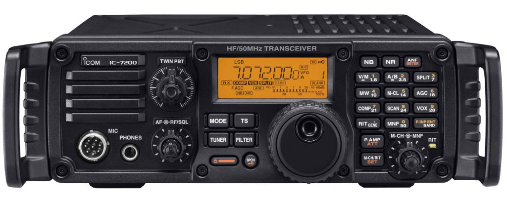 Icom IC-7200 Back In Production