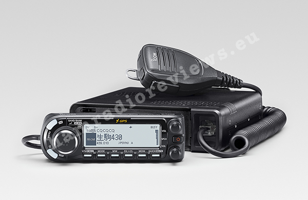 Icom Announced ID-4100 DStar Mobile Radio