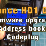 Ailunce HD1 Firmware Upgrade, Address Book and Codeplug [Video]